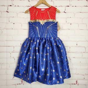 Captain Marvel Girl's Skater Dress